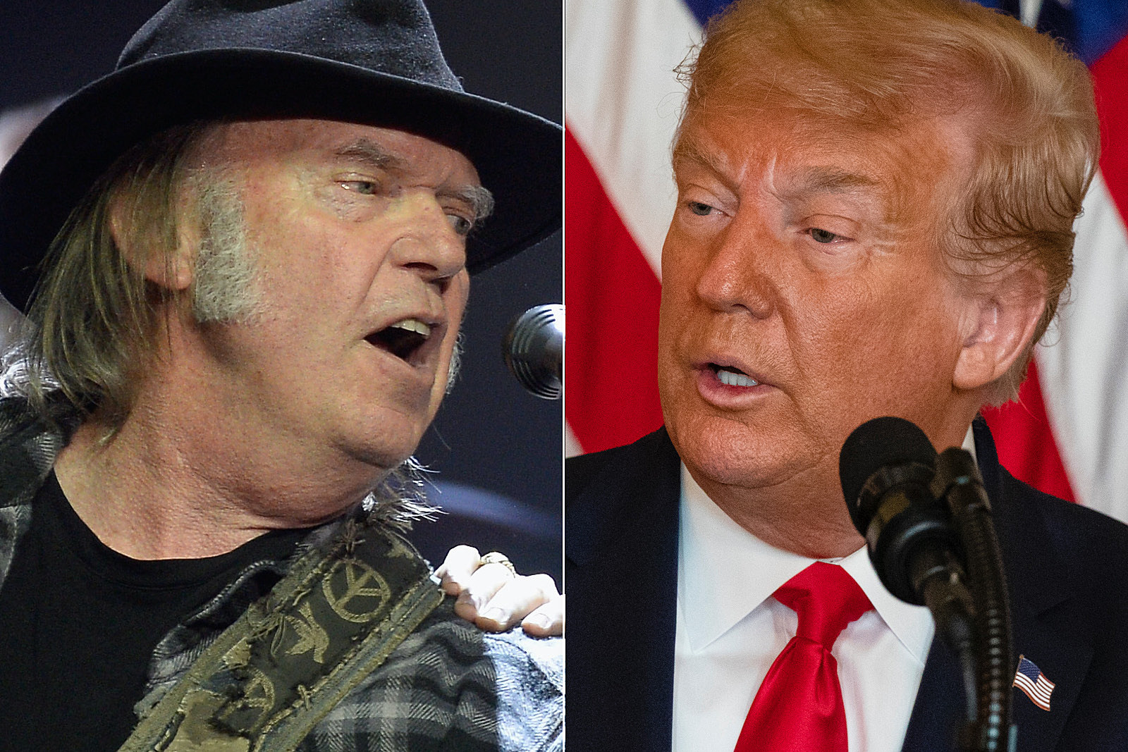 Neil Young Sues to Stop Donald Trump From Playing His Songs
