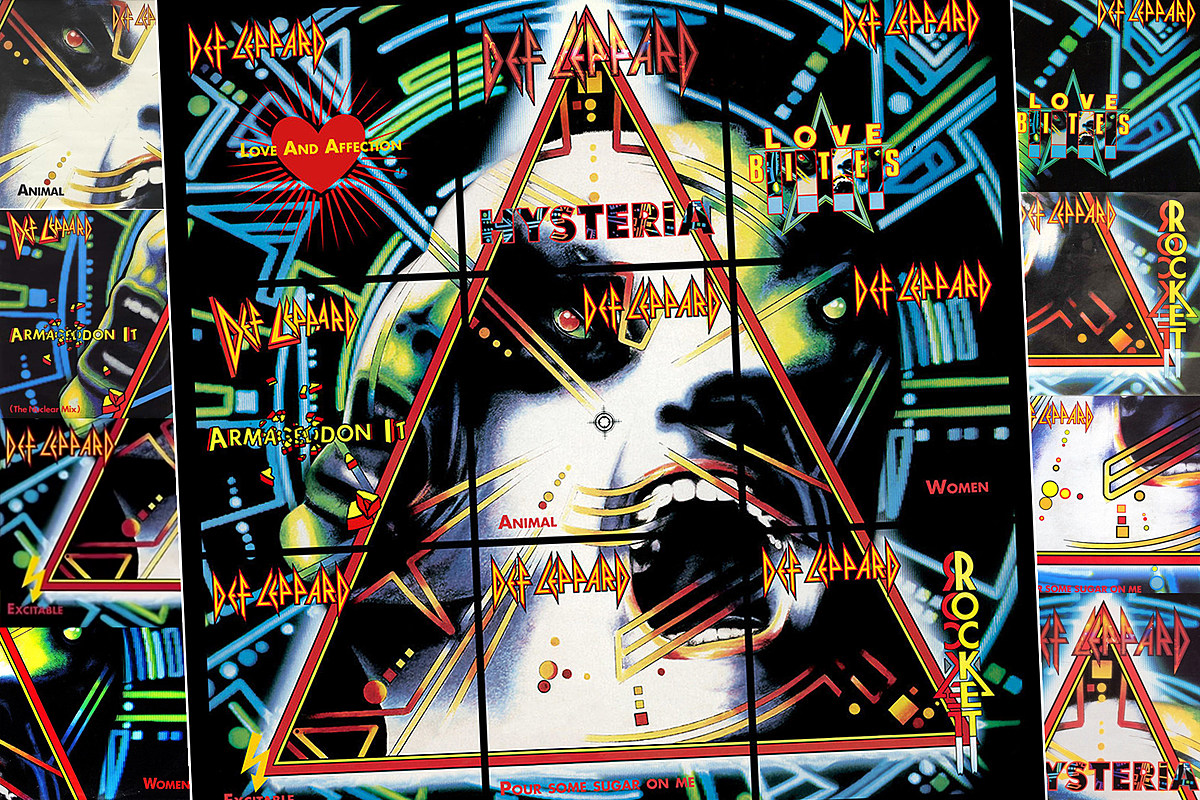 New9singles The Awesome Secret Hiding in Def Leppard's 'Hysteria' Singles