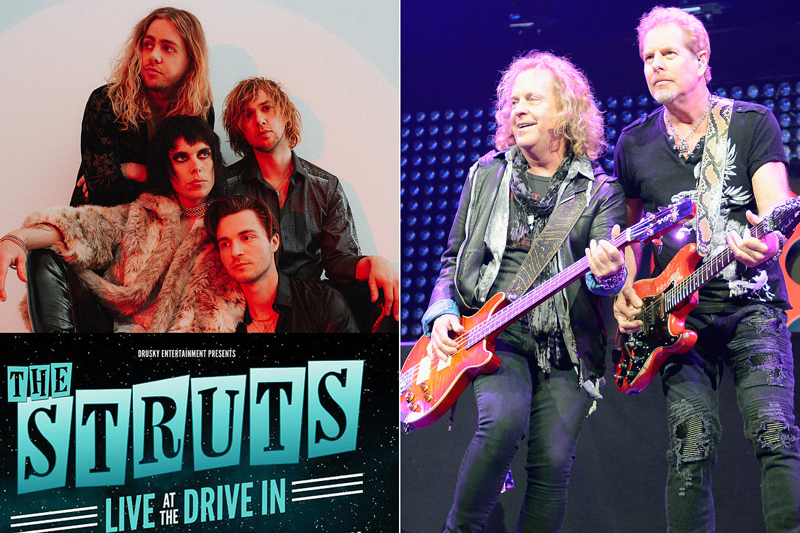 Night Ranger and the Struts Announce Drive-In Theater Concerts