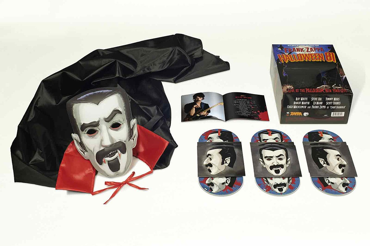 ZAPPA RECORDSUMe Frank Zappa's 1981 Halloween Concert Collected in New Box