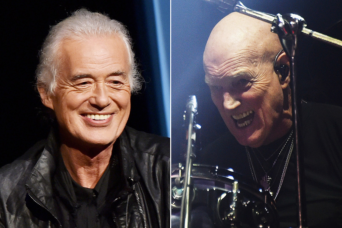 pageslade The Drummer Jimmy Page Waited For