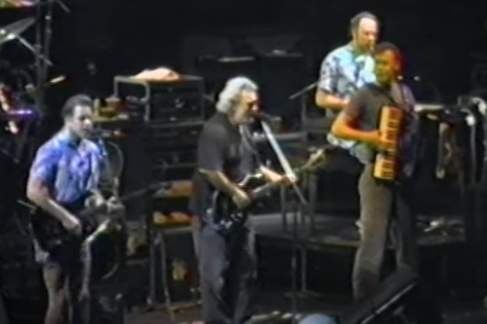 30 Years Ago: Bruce Hornsby Plays His First Grateful Dead Show