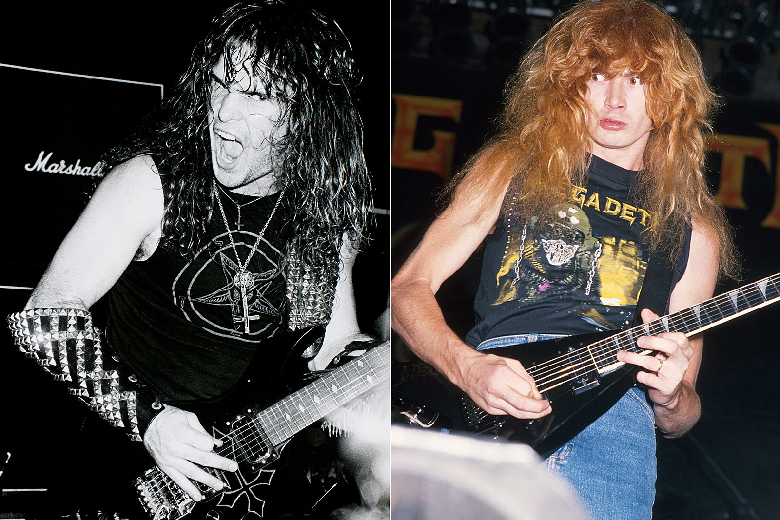 When Slayer's Kerry King Was in Megadeth