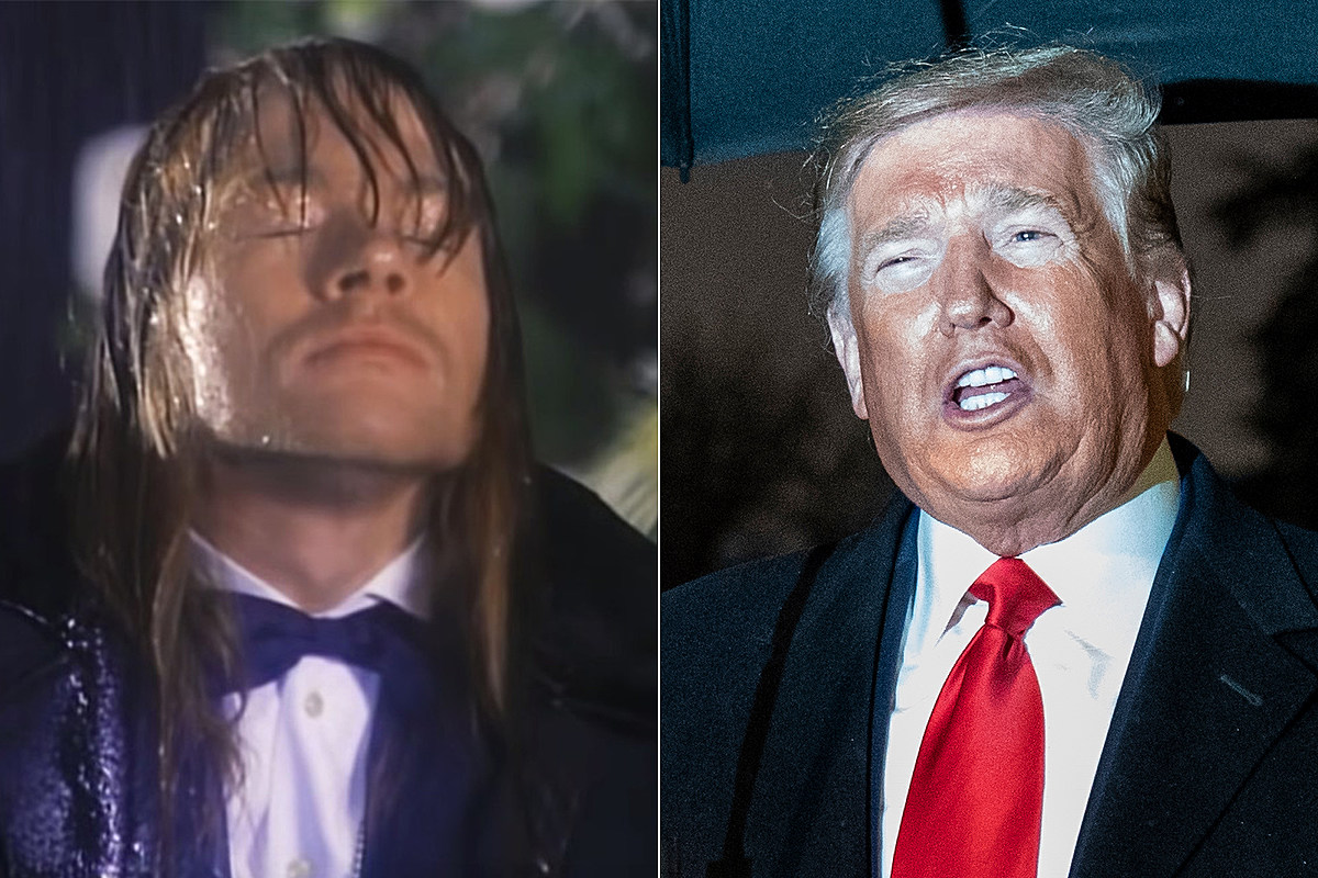Untitled 11 Trump Reportedly Calls 'November Rain' the 'Greatest Music Video'