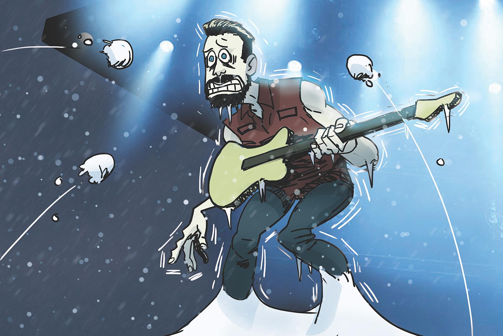 25 Years Ago: Van Halen's Denver Concert Rocked by Snow Storm