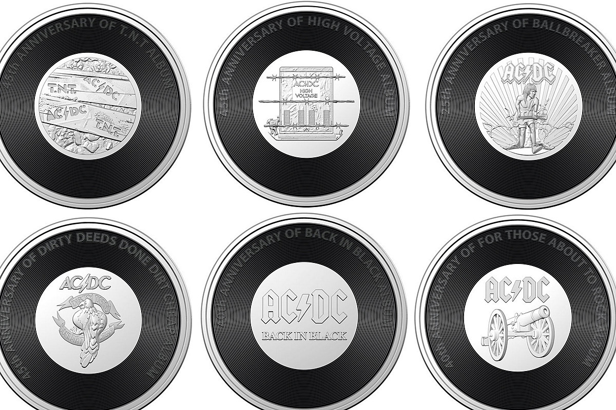 ACDCcoins Six AC/DC Albums Commemorated With New Australian Coins