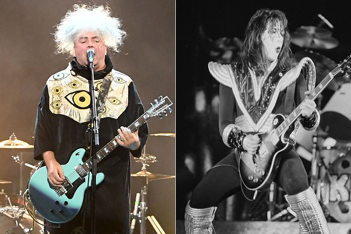 BuzzoAce Hear Melvins' King Buzzo Cover Ace Frehley's Kiss Song 'Shock Me'