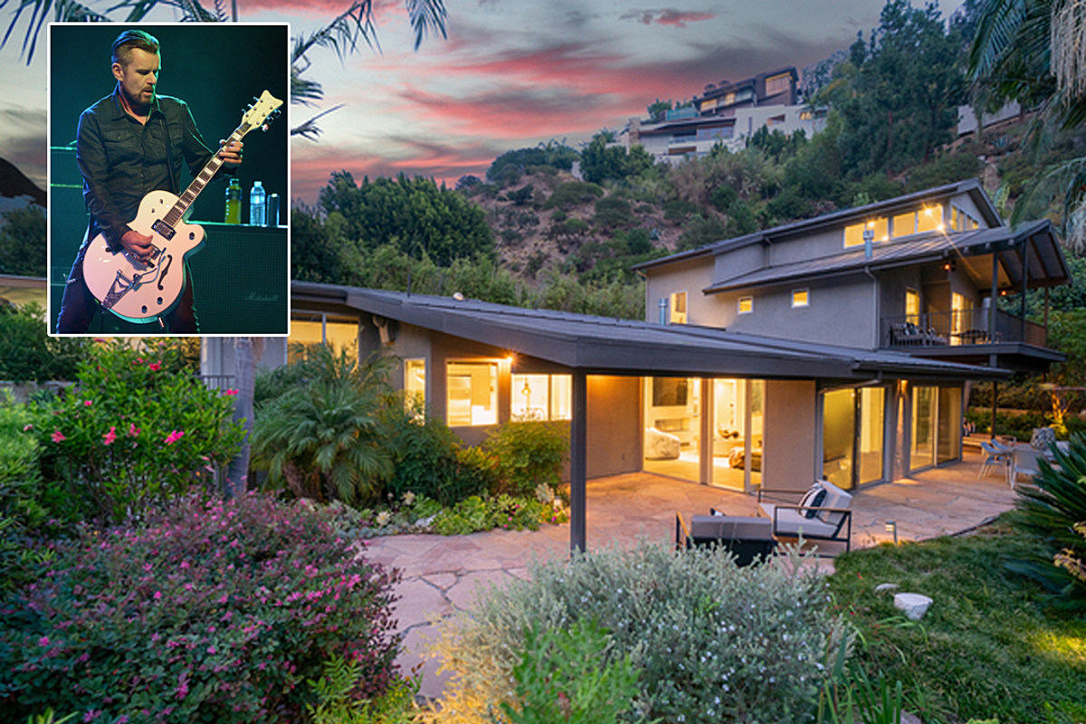 DuffyMain1 The Cult's Billy Duffy Selling 'Spectacular' $3.8M Hollywood Home