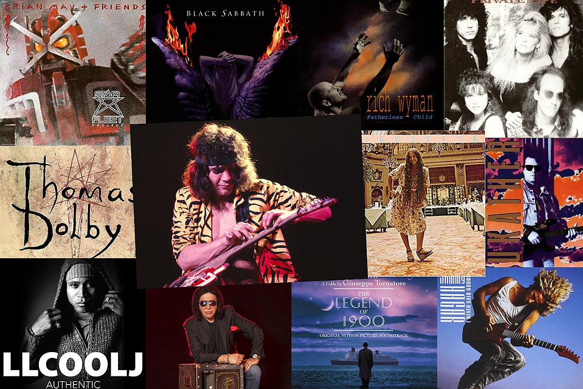 EVHcollaborations Eddie Van Halen Collaborations: 13 Rare and Forgotten Guest Spots