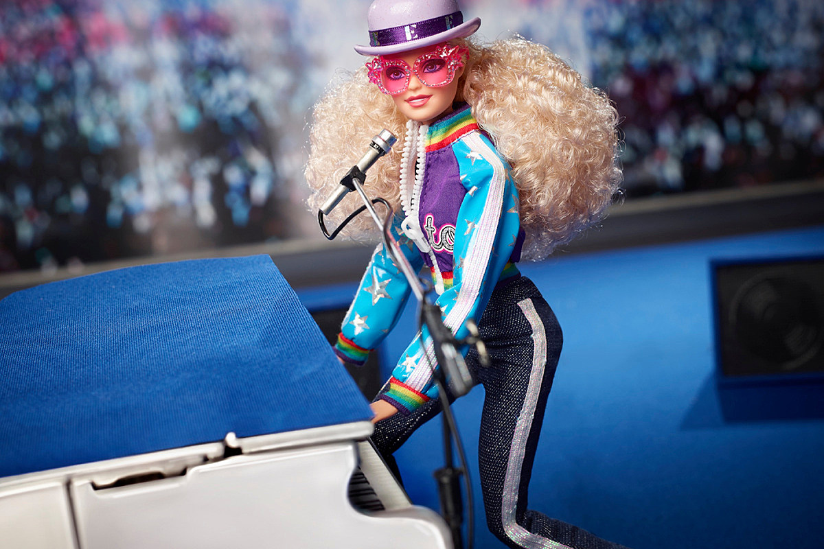 Elton John Barbie Mattel Elton John Now Has His Own Barbie Doll