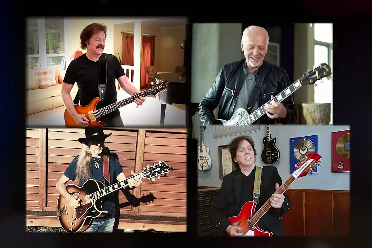 Frampton Doobies Watch Doobie Brothers and Peter Frampton Cover Eric Clapton