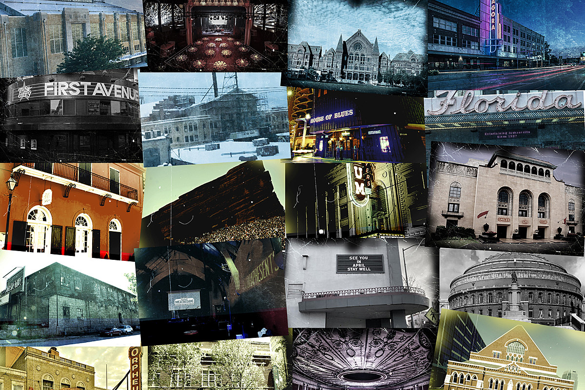 HauntedVenues Haunted Rock Venues: The Stories of 21 Creepy Clubs and Arenas