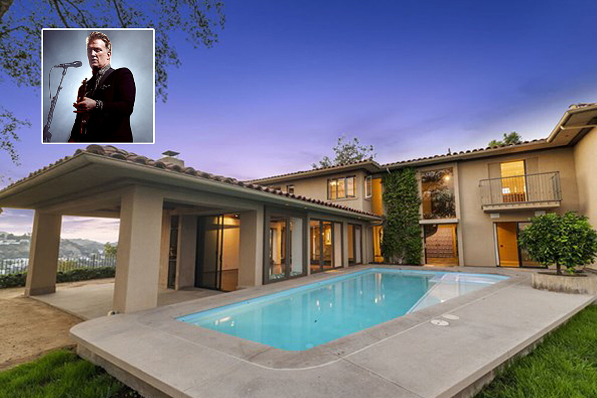 JoshHouse Josh Homme Lists 'Explosive' Hollywood House for $4.75 Million