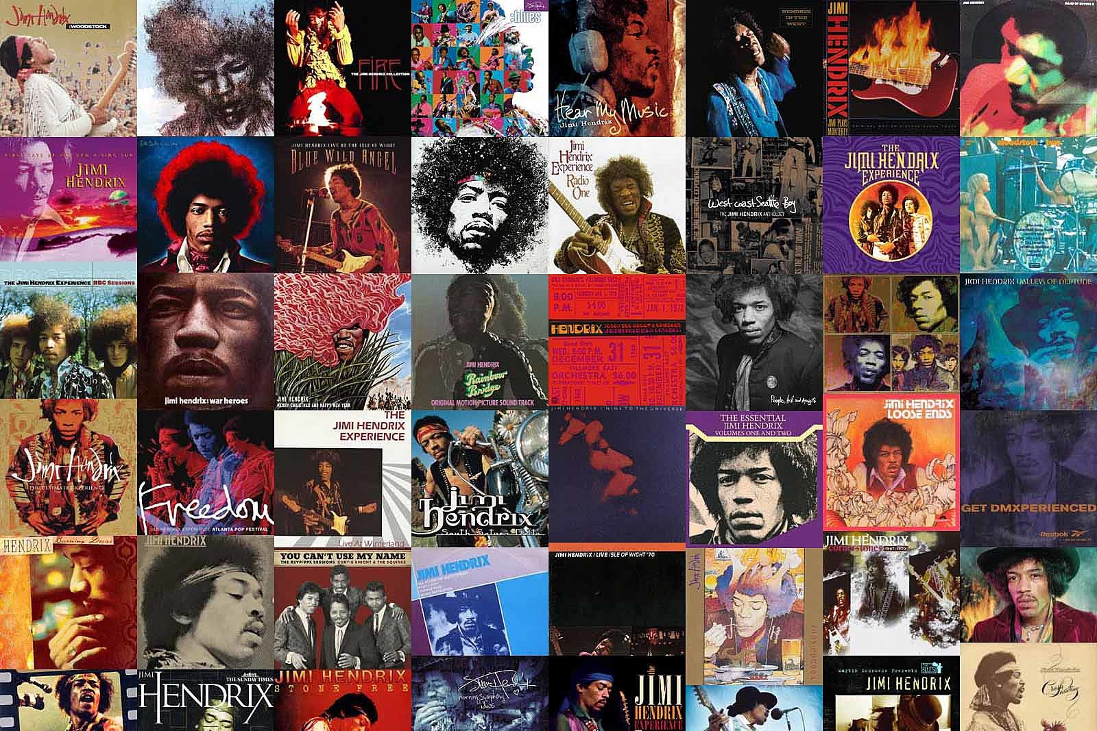 The Stories Behind All 84 Posthumous Jimi Hendrix Albums