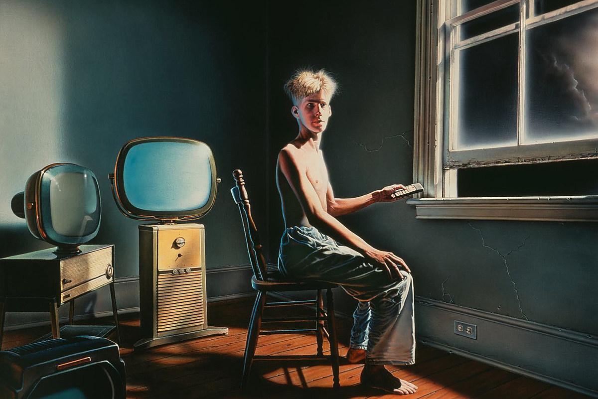 RUSH POWER WINDOWS Rush's 'Power Windows': How Adding TVs Perfected Album Cover