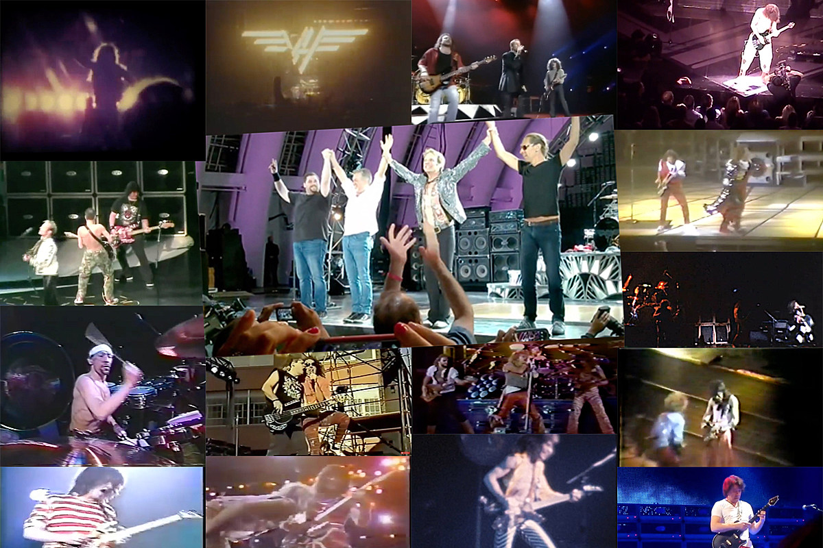 VHLiveBoots The Best Way to Watch or Hear Every Van Halen Tour: 1978-2015