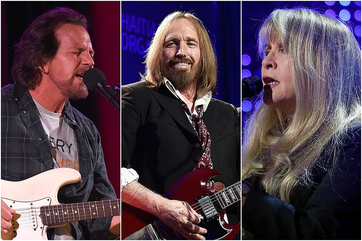Vedder Petty Nicks 1 Eddie Vedder, Stevie Nicks to Guest at Virtual Tom Petty Festival