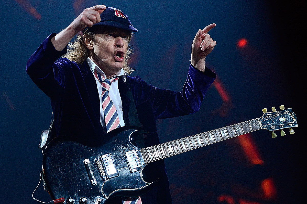 angus Angus Young Recalls AC/DC Concert for Deaf Children
