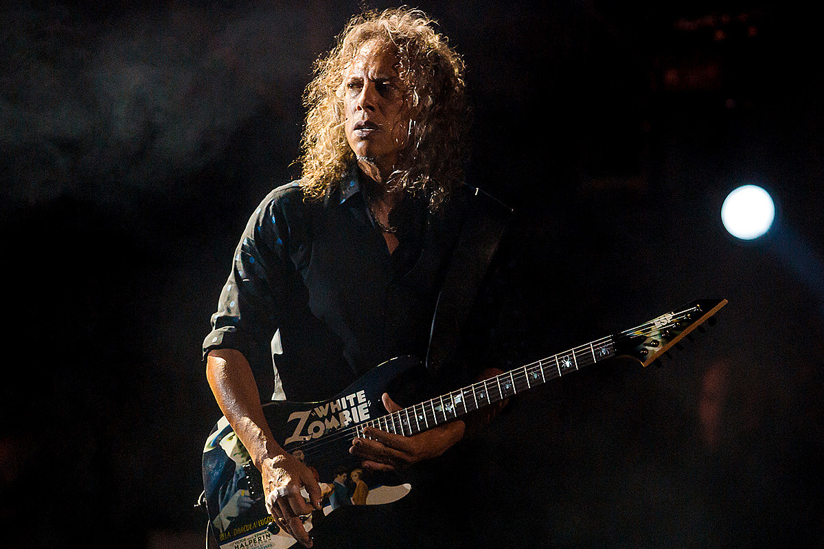 Kirk Hammett Played His Way Out of 'Hair-Raising' Blues Moment