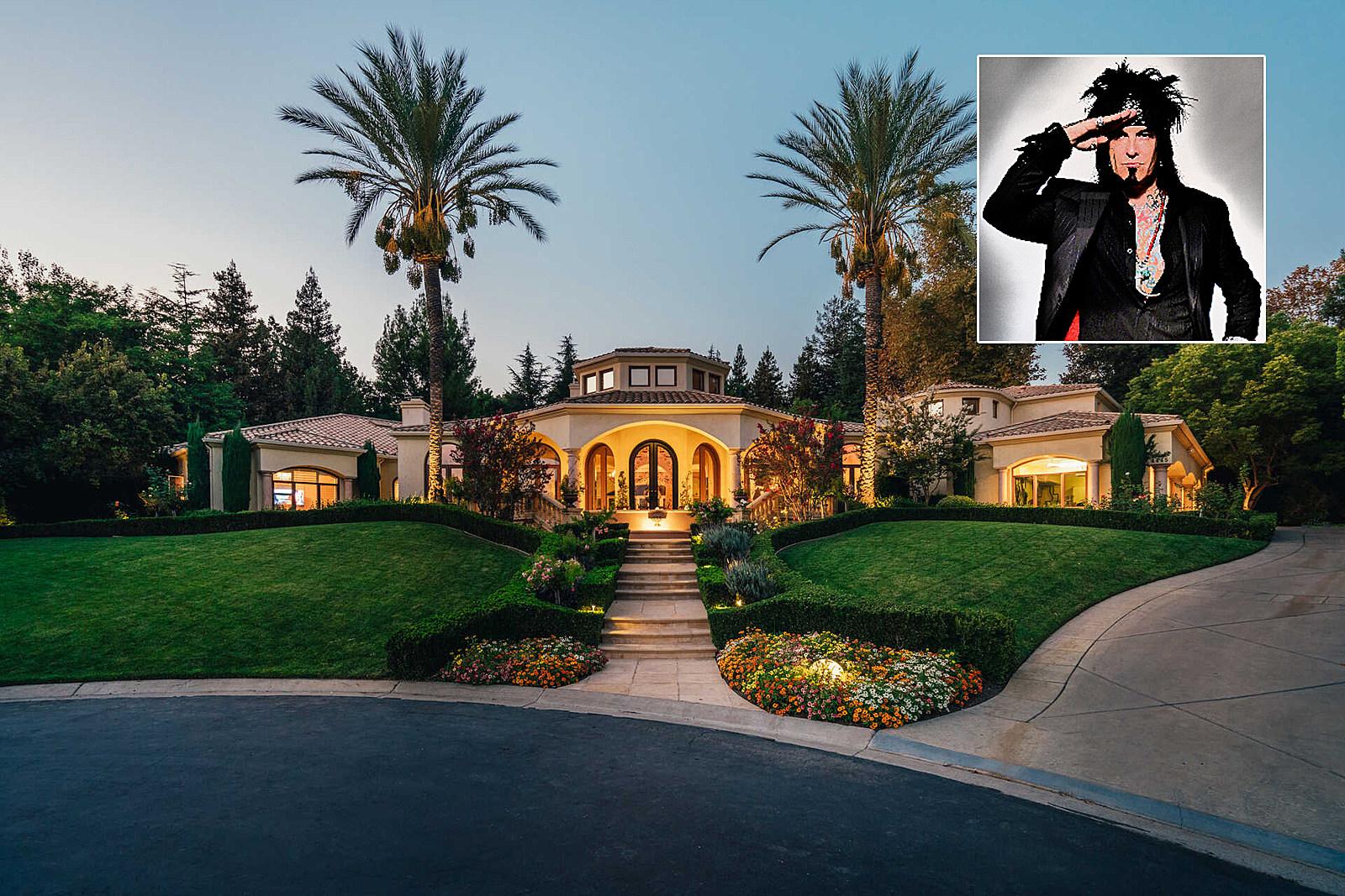 Motley Crue's Nikki Sixx Sells 'Breathtaking' Home for $5.18M