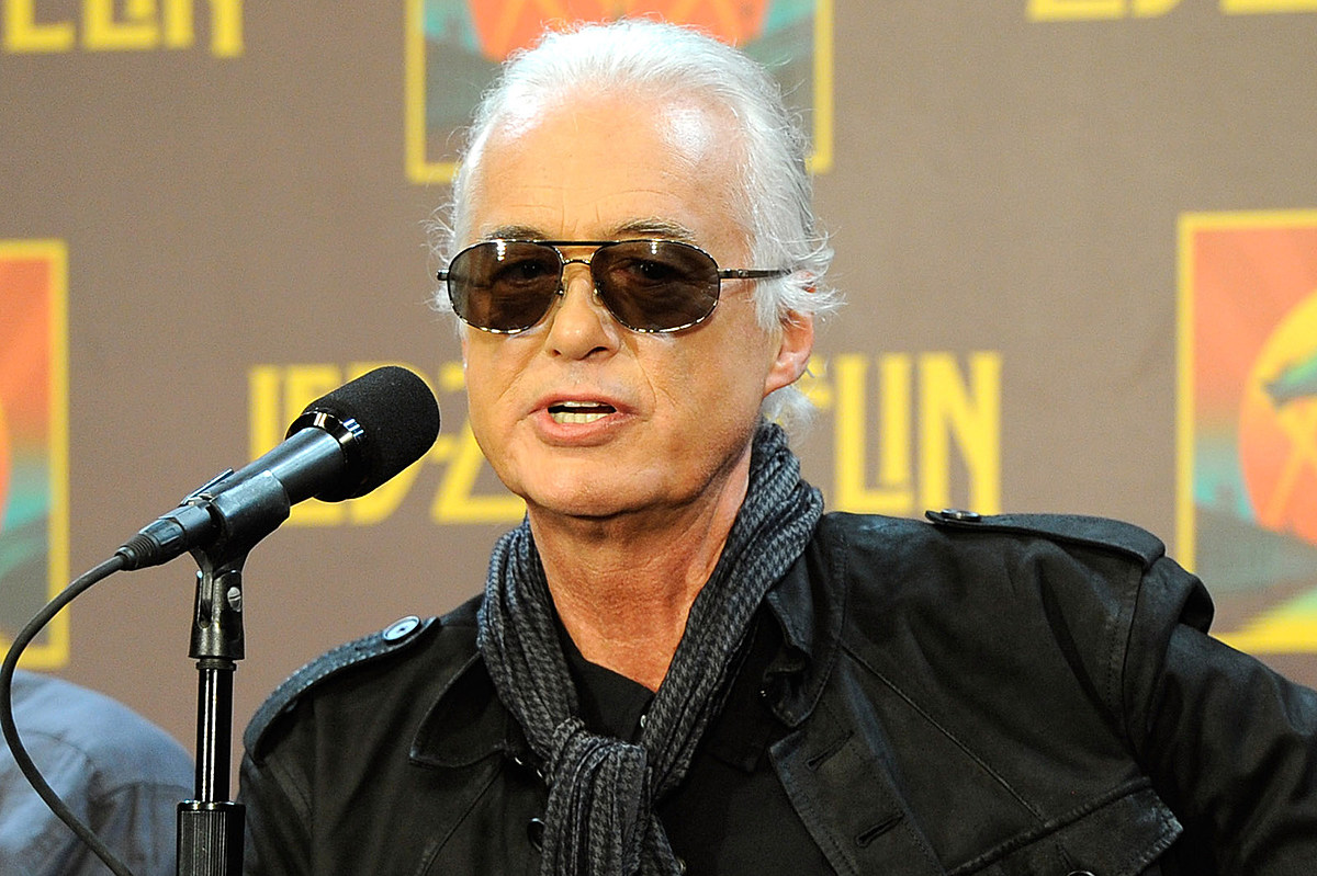 page1 Why Jimmy Page Got 'Jittery' the Night After Led Zeppelin Reunion