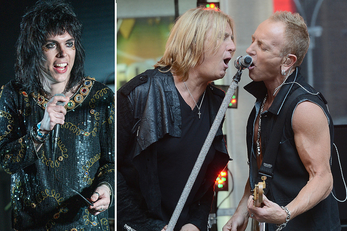 struts Hear Def Leppard's Joe Elliott, Phil Collen Guest With the Struts