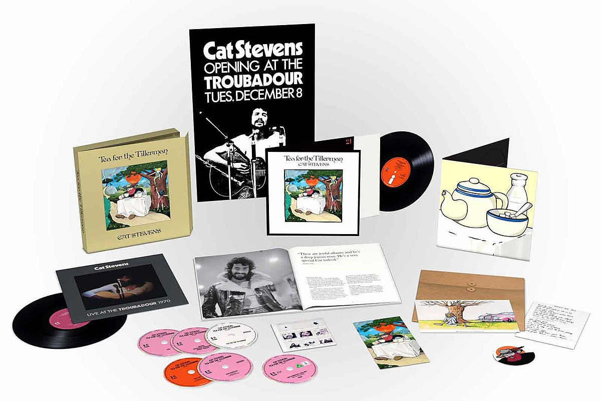 unnamed 2 Cat Stevens Announces Deluxe Reissues of Two Classic LPs