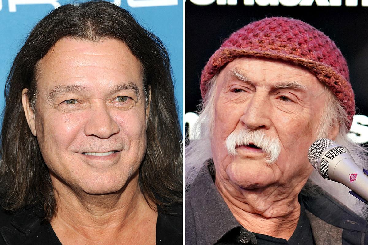 van David Crosby Says He's an 'Old Idiot' for Eddie Van Halen Tweet