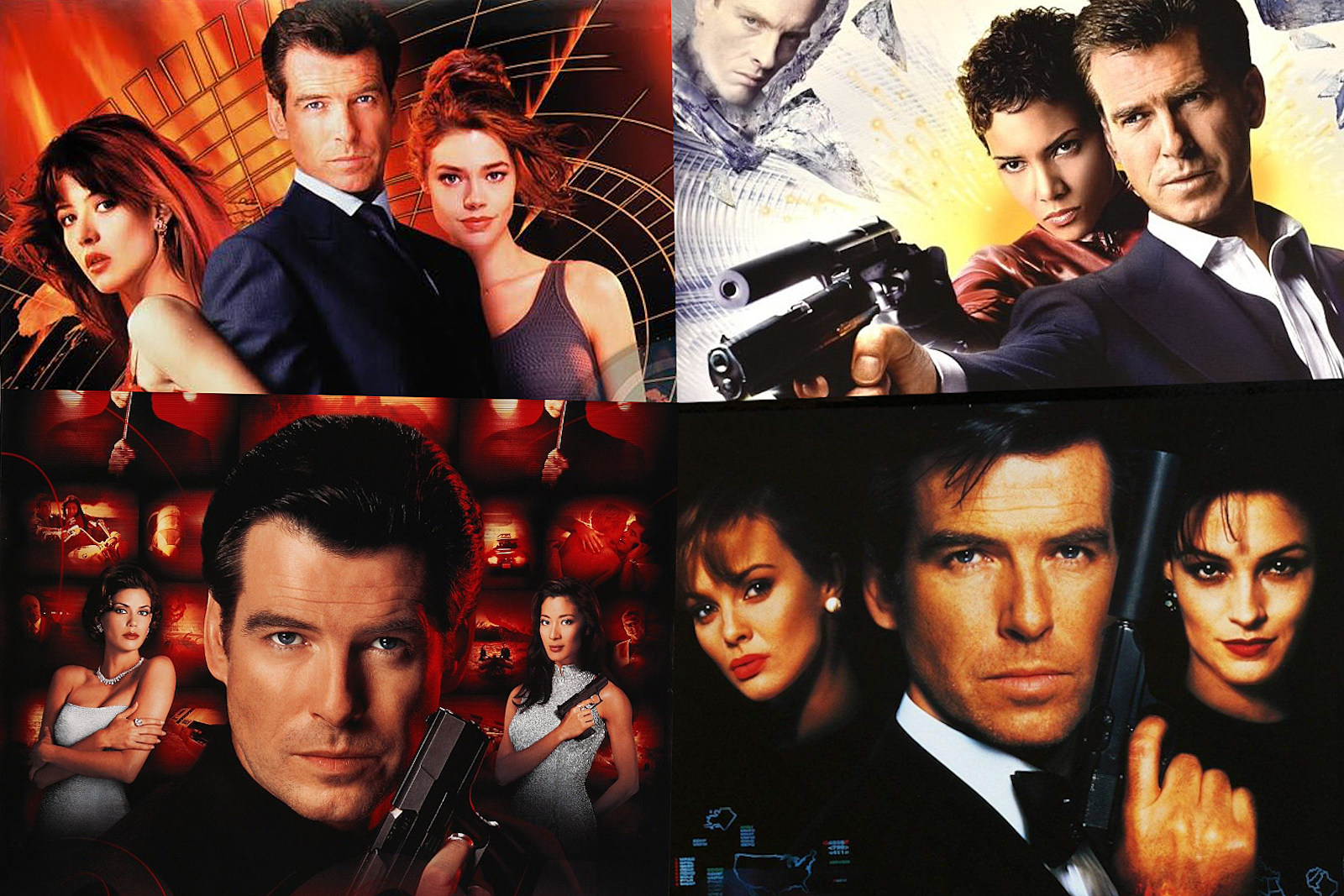 The Stories Behind All Four Pierce Brosnan James Bond Movies