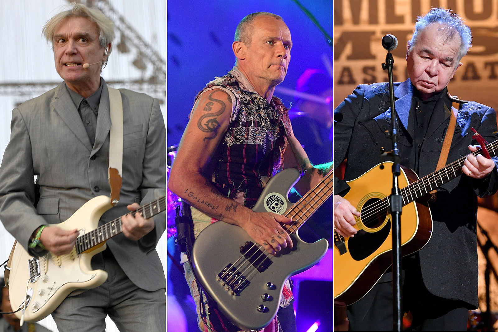 David Byrne, Flea and John Prine Among 2021 Grammy Nominees