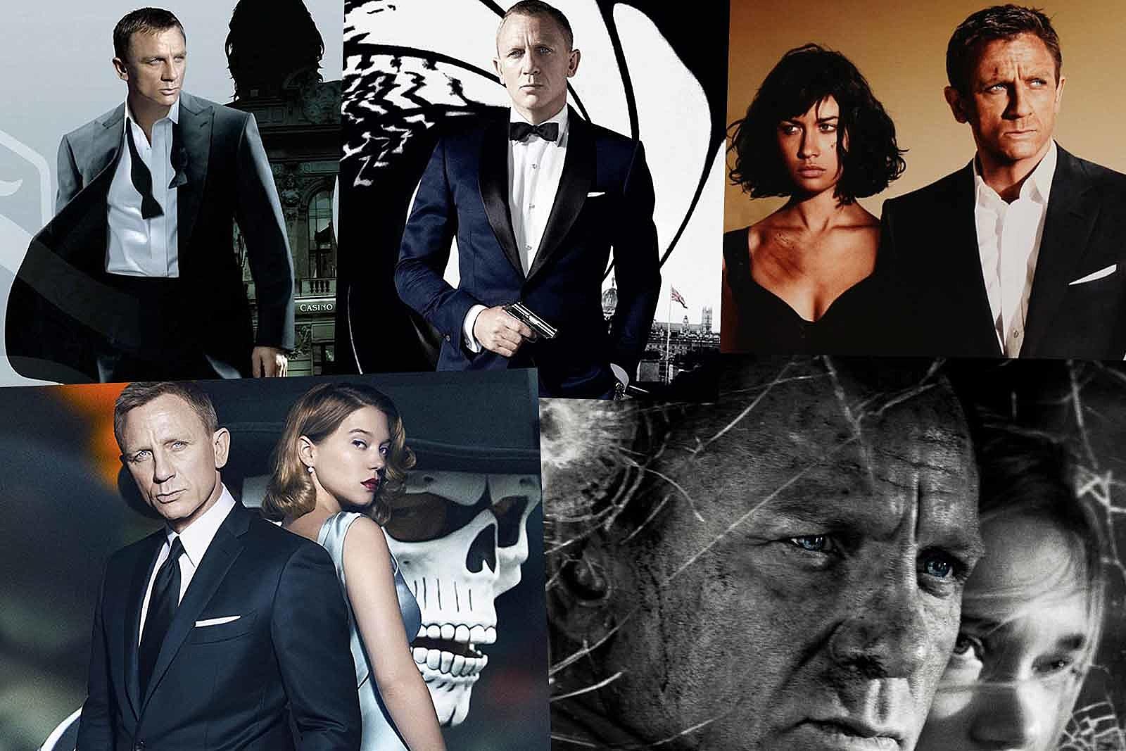 The Stories Behind All Five Daniel Craig James Bond Movies