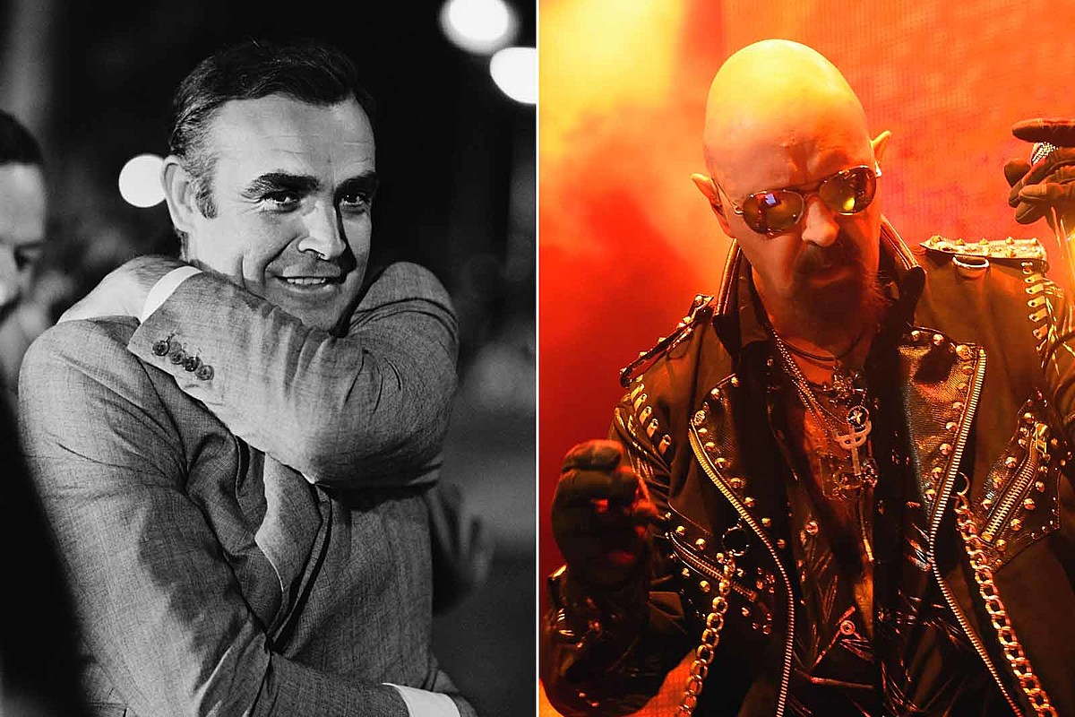 Sean Connery Rob Halford Rob Halford Describes 'Massive Crush' on Sean Connery