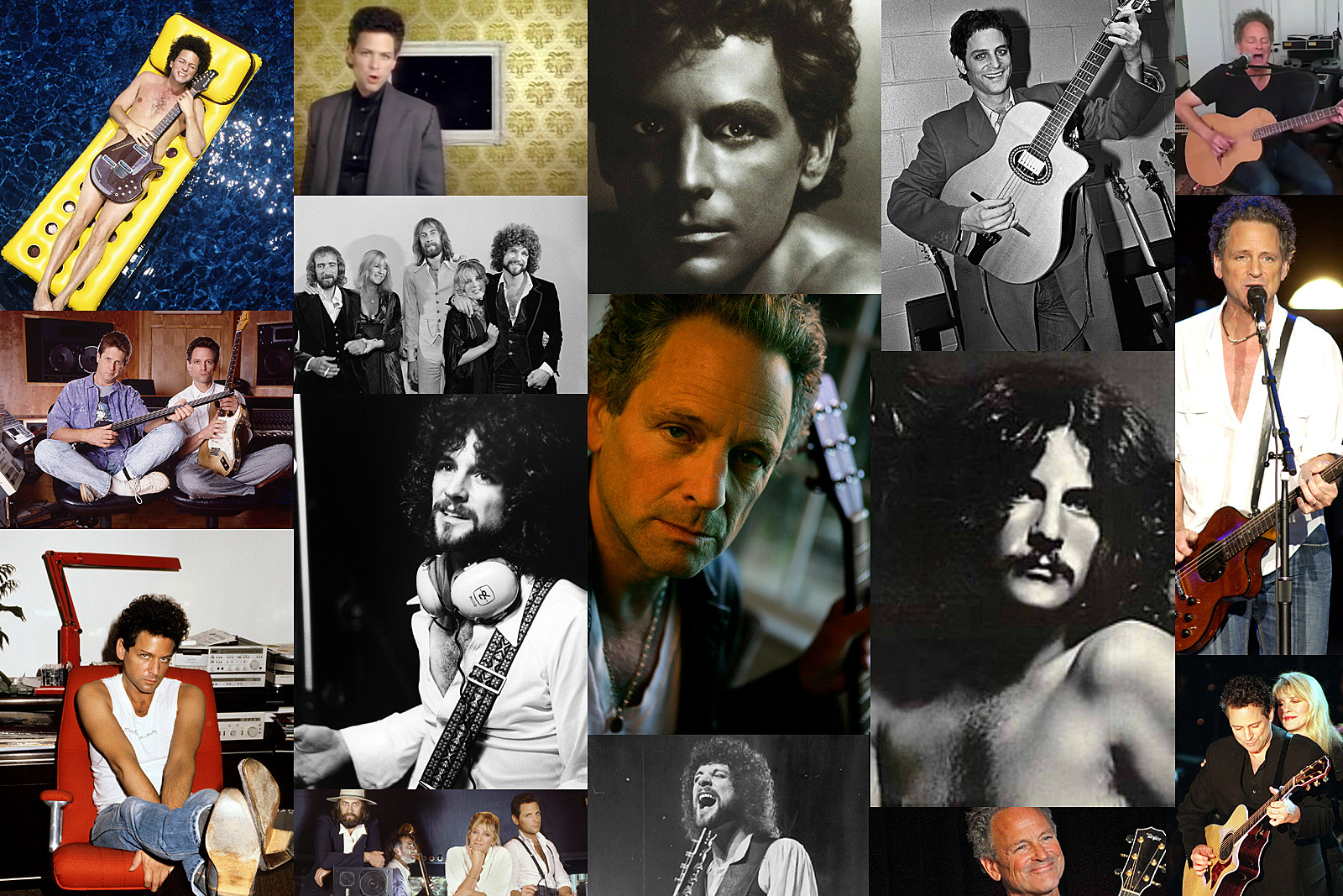 Lindsey Buckingham Year-by-Year: Photos 1974-2020