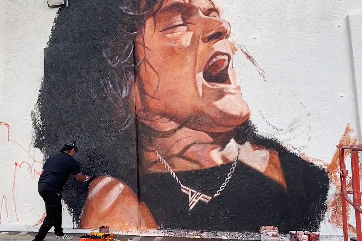 Eddie Van Halen Mural Coming to Hollywood