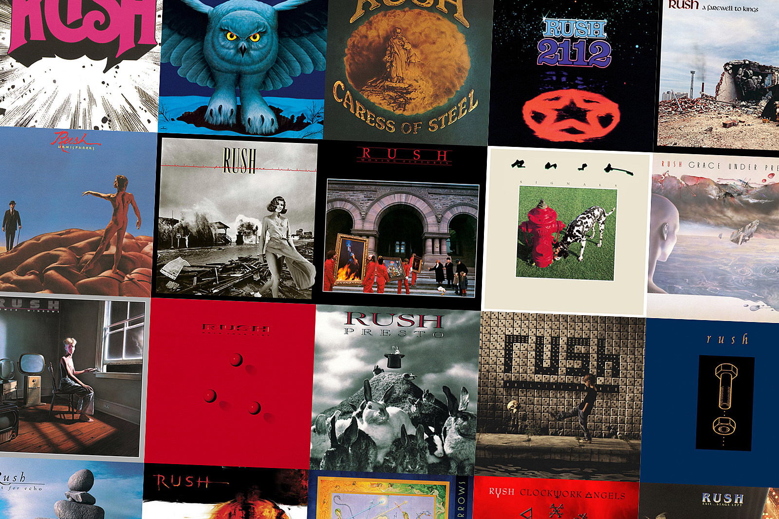 Rush Album Art: The Stories Behind All 19 LP Covers