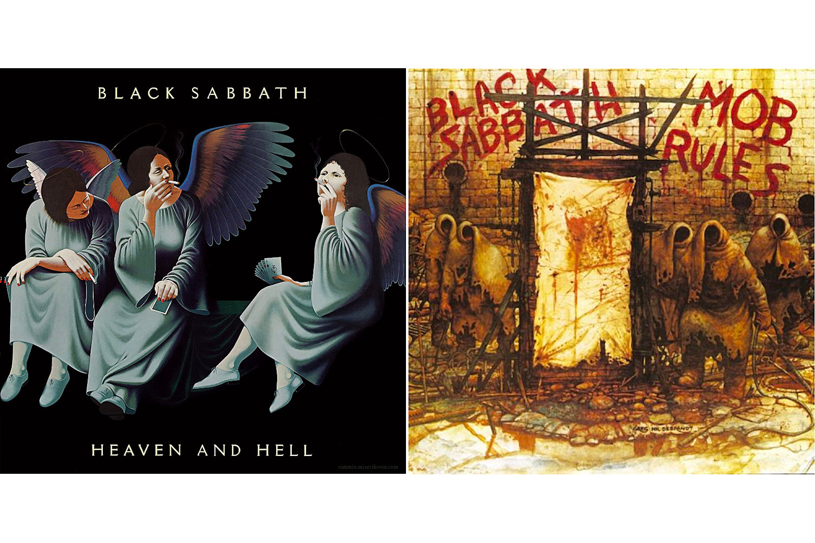 Black Sabbath Announce Reissues of Classic Dio-Fronted Albums