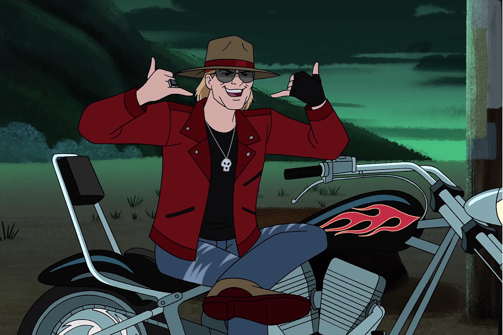 Axl Rose Set to Appear in New 'Scooby-Doo' Episode
