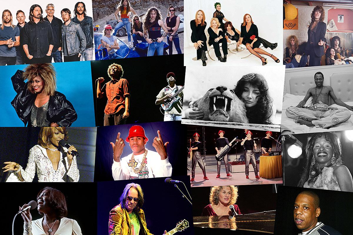 Foo Fighters, Iron Maiden, Go-Go номинанты рок-зала 2021 года