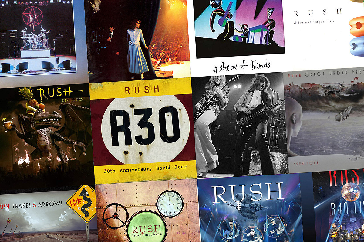 Rush Live Albums Ranked Worst to Best