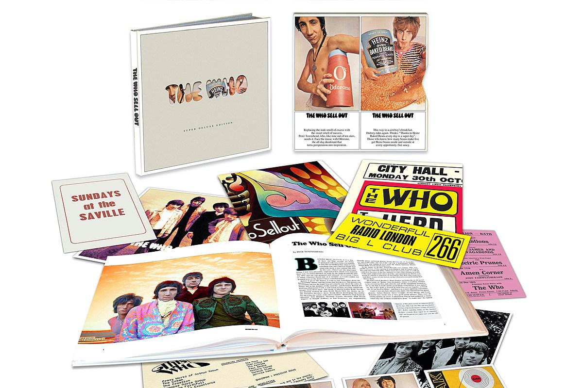 Делюкс-переиздание альбома «The Who Sell Out» с 46 неслыханными песнями