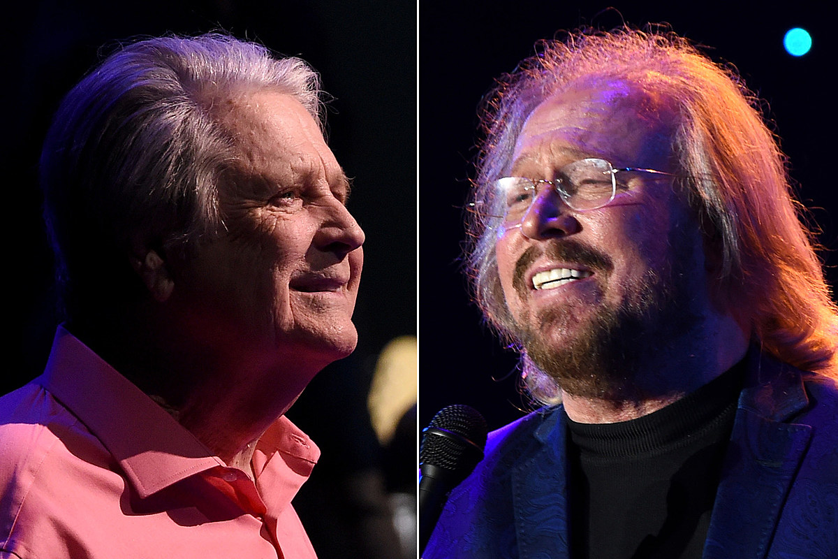 Could Brian Wilson, Barry Gibb Love-In Lead to Collaboration?