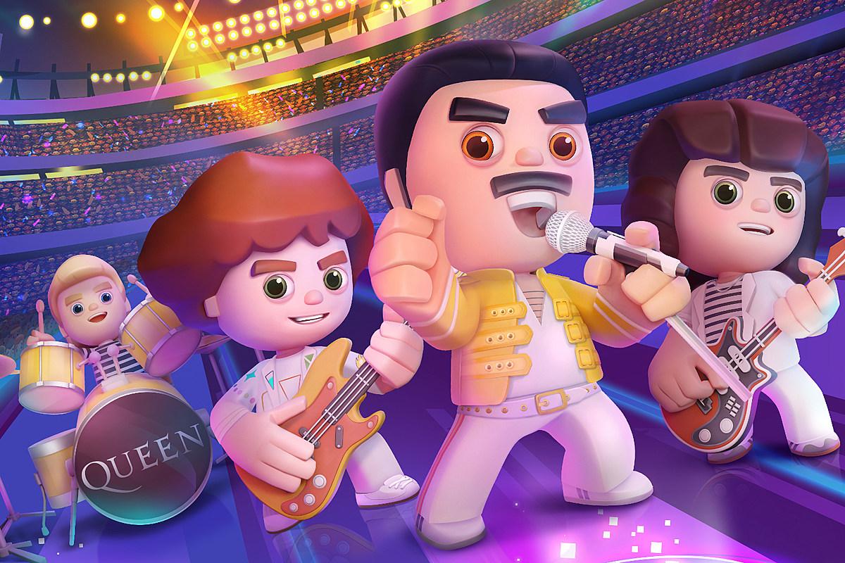 Queen выпустили мобильную игру Rock Tour