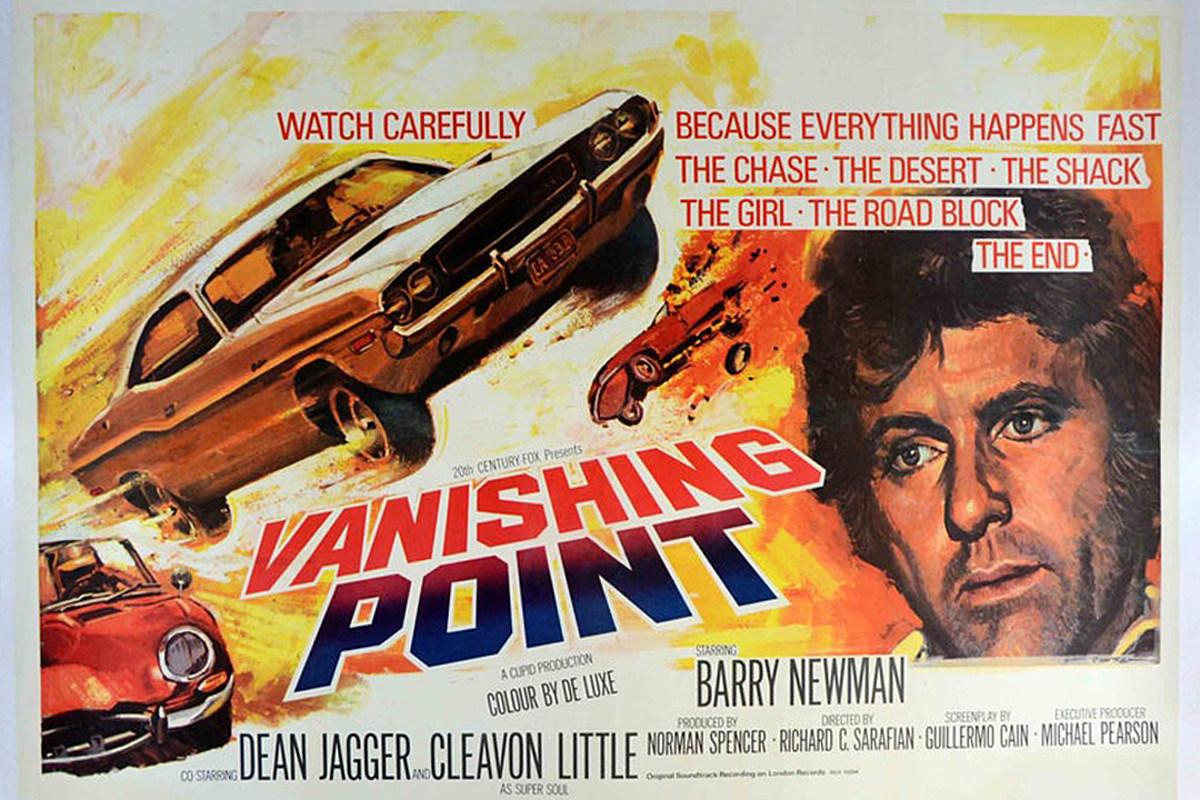 50 Years Ago: 'Vanishing Point' Brings Big Engines, Deep Themes