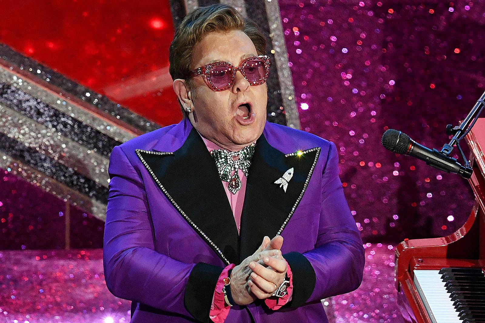Elton John Says His Parents' Arguments Led to 'Big Spender' Habit