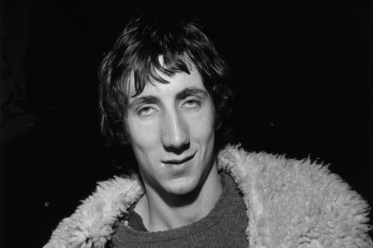 Pete Townshend Is Happy to Live Off His Past