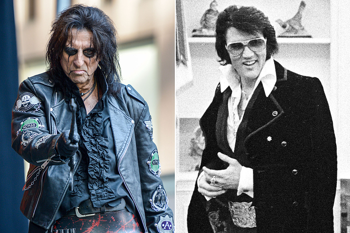 When Alice Cooper Pointed a Loaded Gun at Elvis Presley