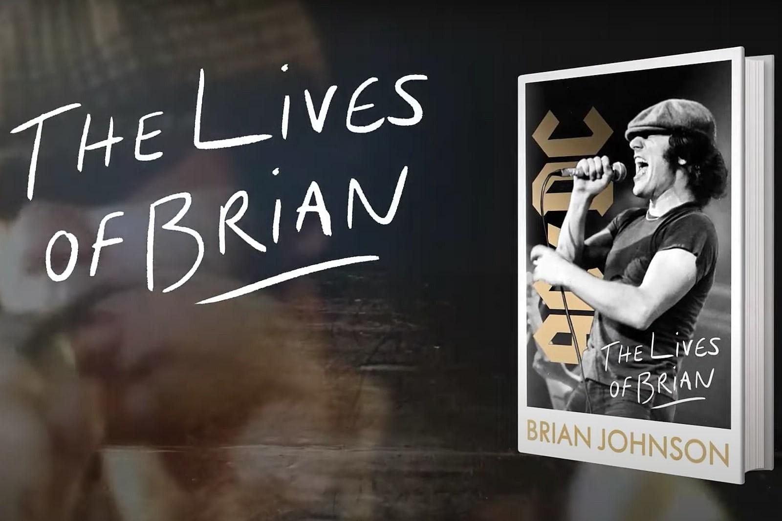 AC/DC's Brian Johnson Announces New Memoir, 'The Lives of Brian'
