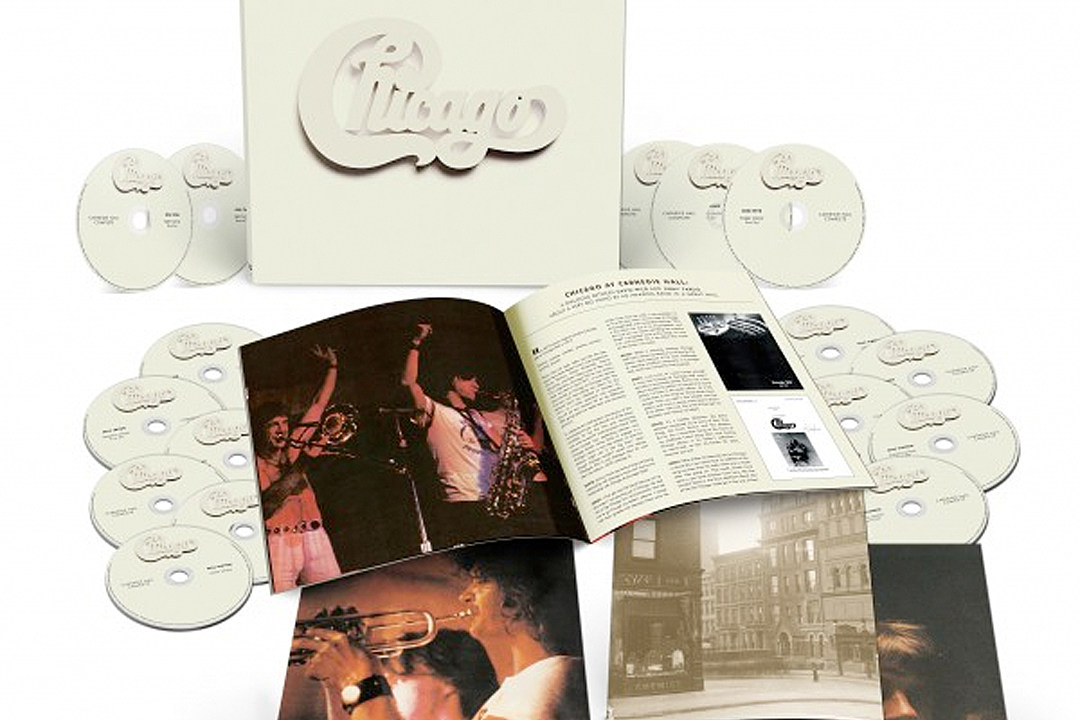 Chicago Announce 'Chicago at Carnegie Hall' Deluxe Edition