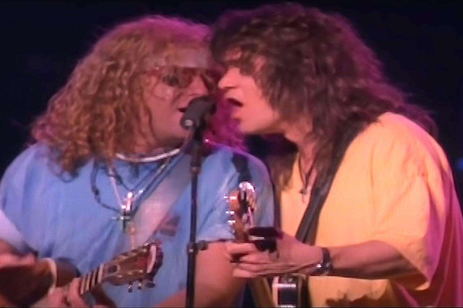 Why Van Halen Didn't Change Band Names When Sammy Hagar Joined
