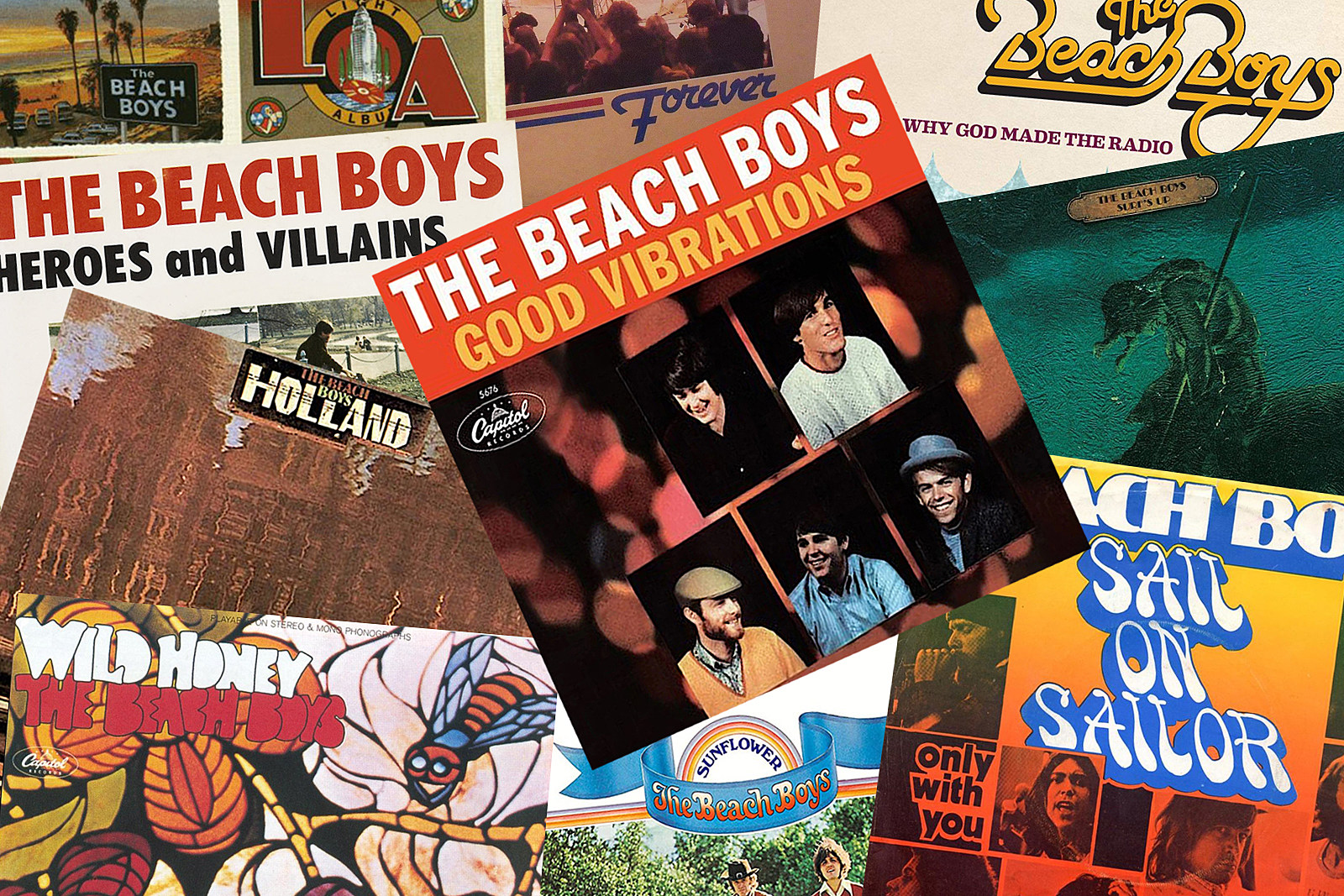 Top 10 Post-'Pet Sounds' Beach Boys Songs